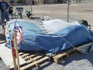 Jesus' tent