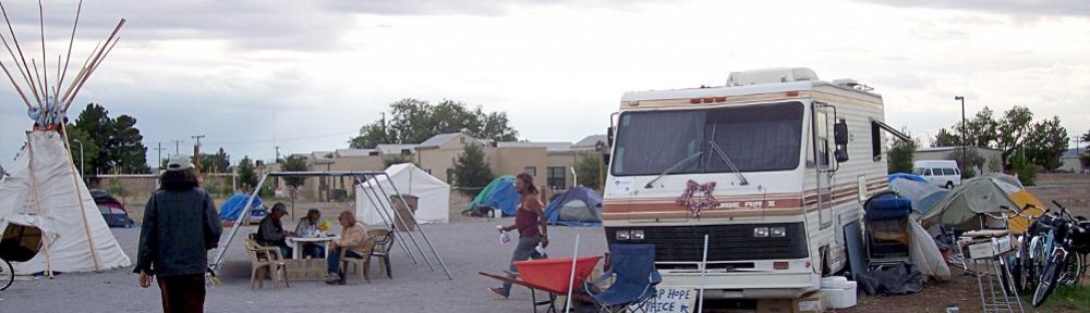 Off of the Streets and Closer to a Homeu2026 & tent city | Hope Village Las Cruces