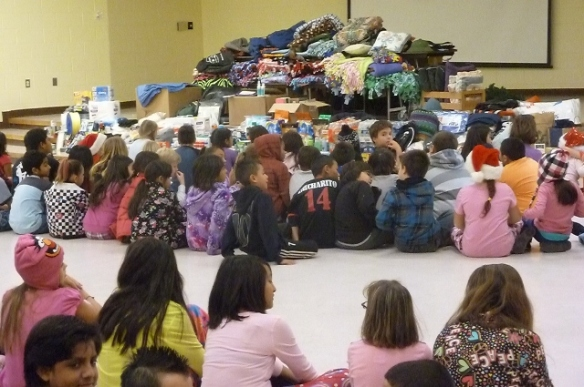 Hillrise Elementary School 3rd 4th and 5th Grade classes