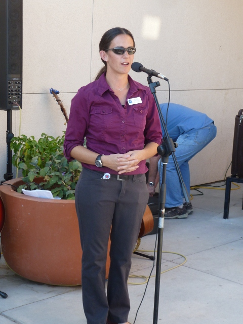 MVCH Executive Director Nicole Martinez