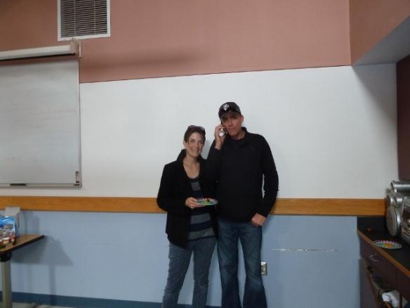 Anna Biad and her Husband