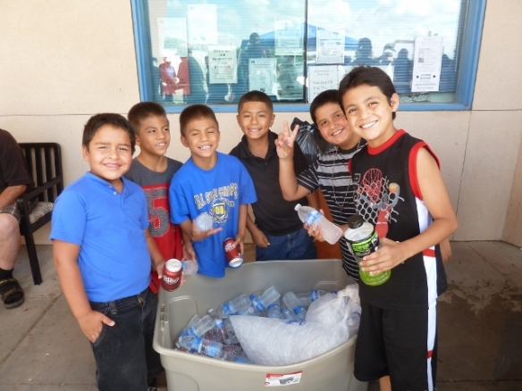 Landmark Church Kids Serving Cold Drinks