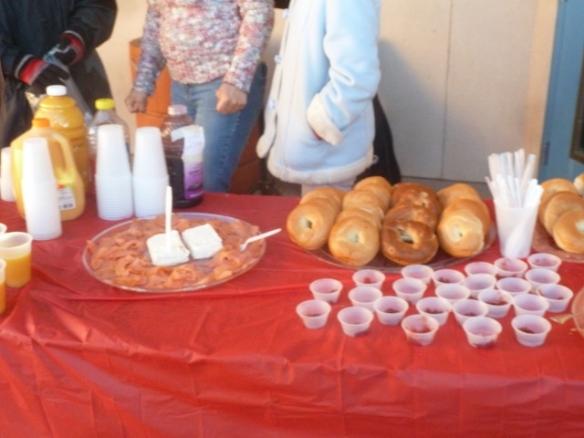 Temple Beth-El X-mas day breakfast
