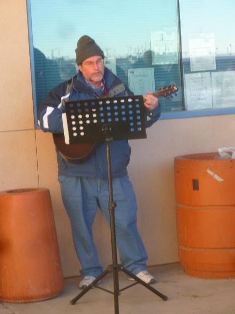 Rabbi serenades us